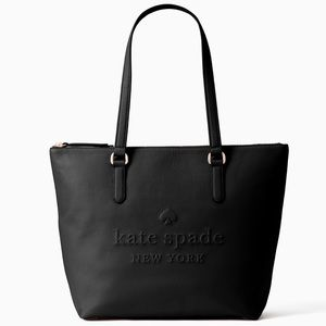 New Kate Spade Larchmont Logo Tote in Black!! 😍
